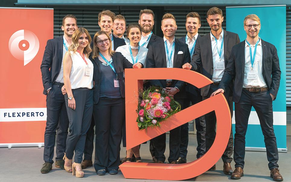 Flexperto-Team auf der Digisurance 2017 | Team of flexperto at the Digisurance event 2017